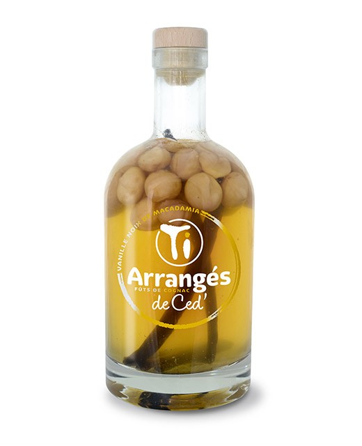 Flavoured Rum  Vanille und Macadamianuss - Les Rhums de Ced'