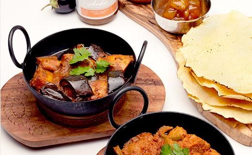 sehr stark gewürzte Curry Sauce - Anila's