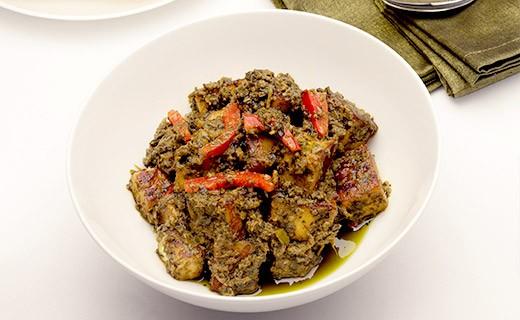 grüne Curry Sauce aus Goa - Anila's