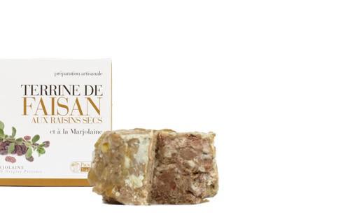 Fasanenterrine mit Trauben und Majoran - Provence Tradition