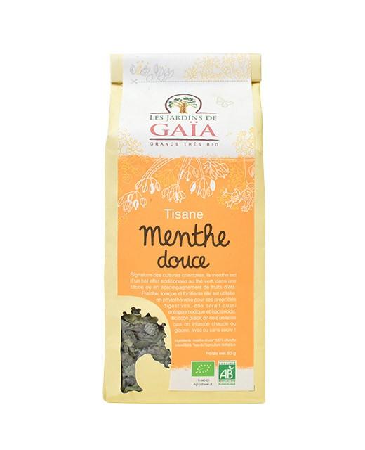 Kräutertee - milde Minze - Les Jardins de Gaïa
