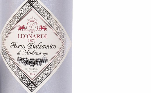 Leonardi Balsamico-Essig - 10 Jahre lang gereift - 5 Medaillen - Leonardi