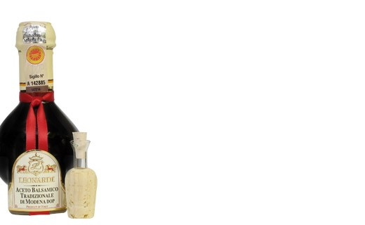 Leonardi Traditioneller Balsamico-Essig D.O.P.  15 Jahre lang gereift - Leonardi