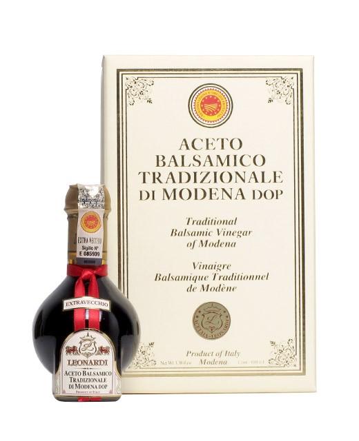 Leonardi Traditioneller Balsamico-Essig D.O.P.  30 Jahre lang gereift - Leonardi